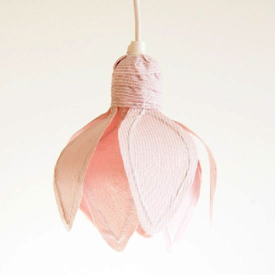 Make This Gorgeous Tulip Shaped Pendant Lamp Shade For Spring Easy Step By Tutorial