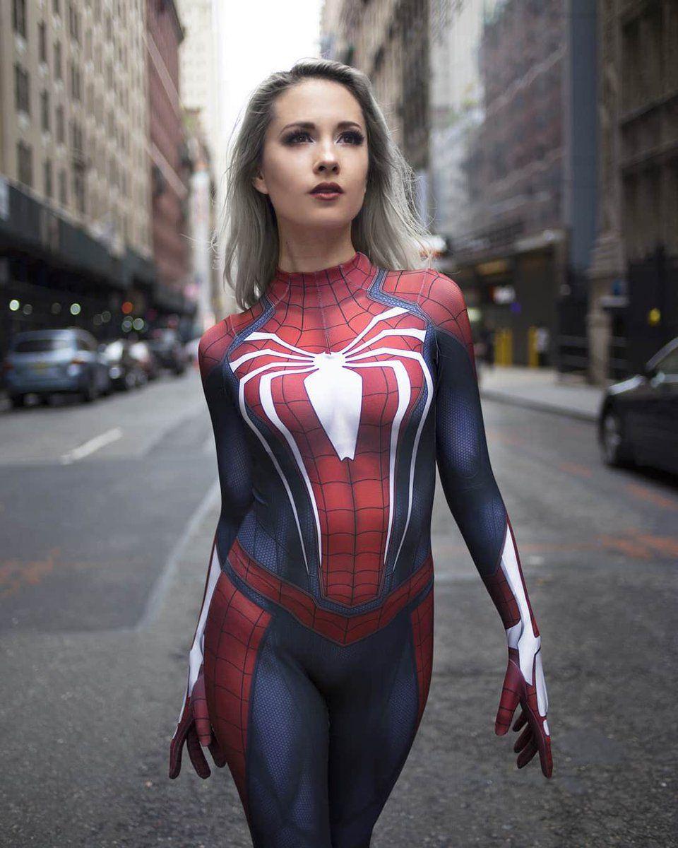 Spider Woman Cosplay  Spider-Man    -9753
