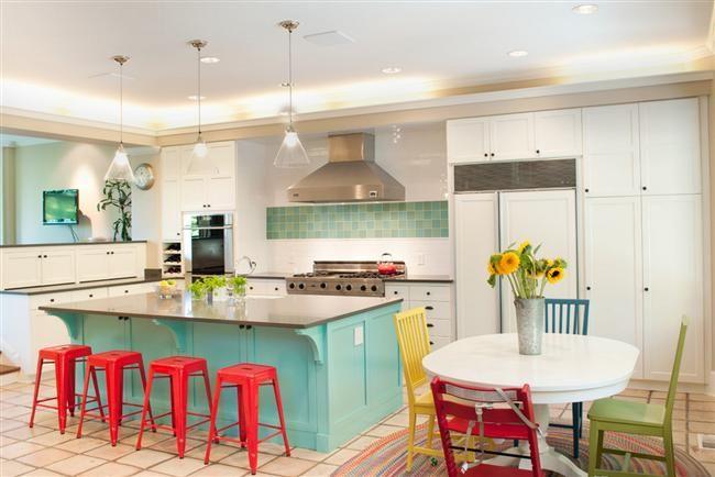 Farbe Küche Dekorieren für den Frühling - http://bestemoderne-mode.com/farbe-kuche-dekorieren-fur-den-fruhling/