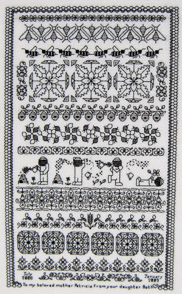 Brain Clutter: Blackwork pattern: Misc blackwork examples #19