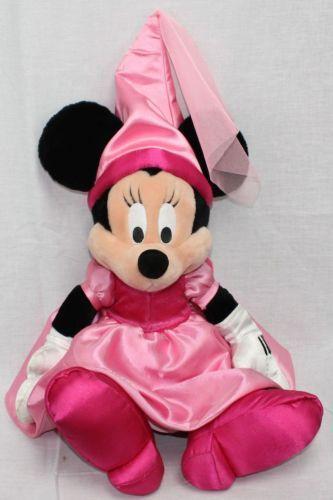 Minnie Mouse Disney Princess Stuffed Plush Doll 22 Theme
