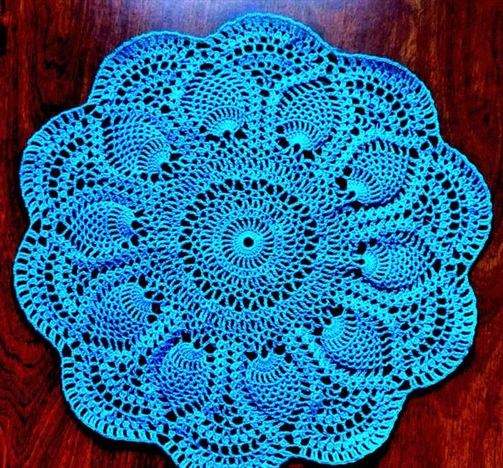 42 Quick Easy Crochet Doily Pattern Knit Krochet Kraftin