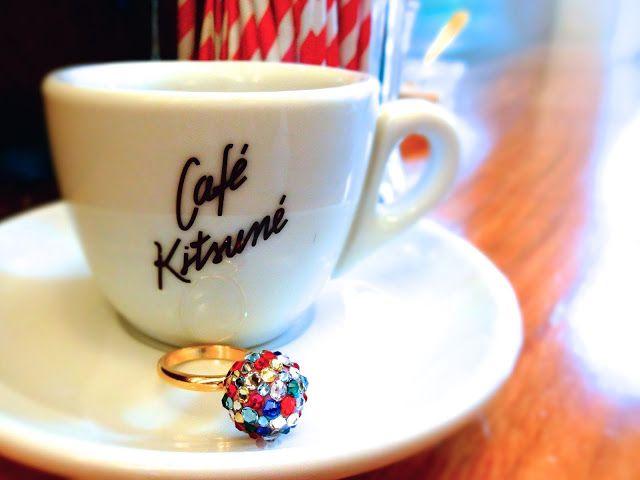 YURIKALAMODE a Paris / JULICA: Cafe Kitsune & BONBON RING
