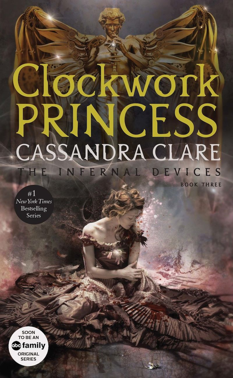 New Cover Art For Cassandra Clare S Infernal Devices Trilogy