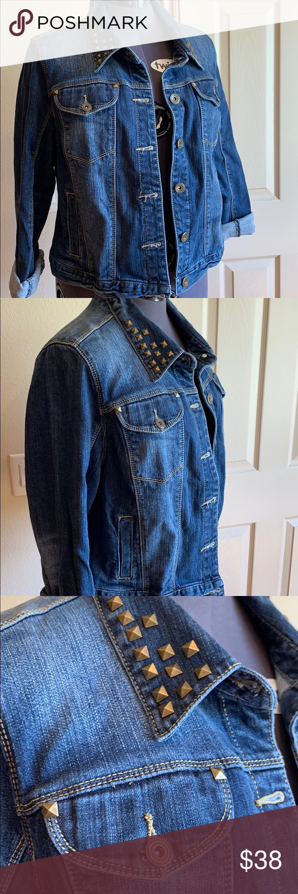 Lane Bryant 14 Denim Jacket Clothes Design Denim Jacket Fashion [ 1740 x 580 Pixel ]