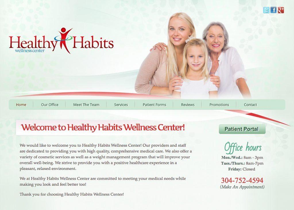 Logan Doctor Website Design by Optimized360 Health