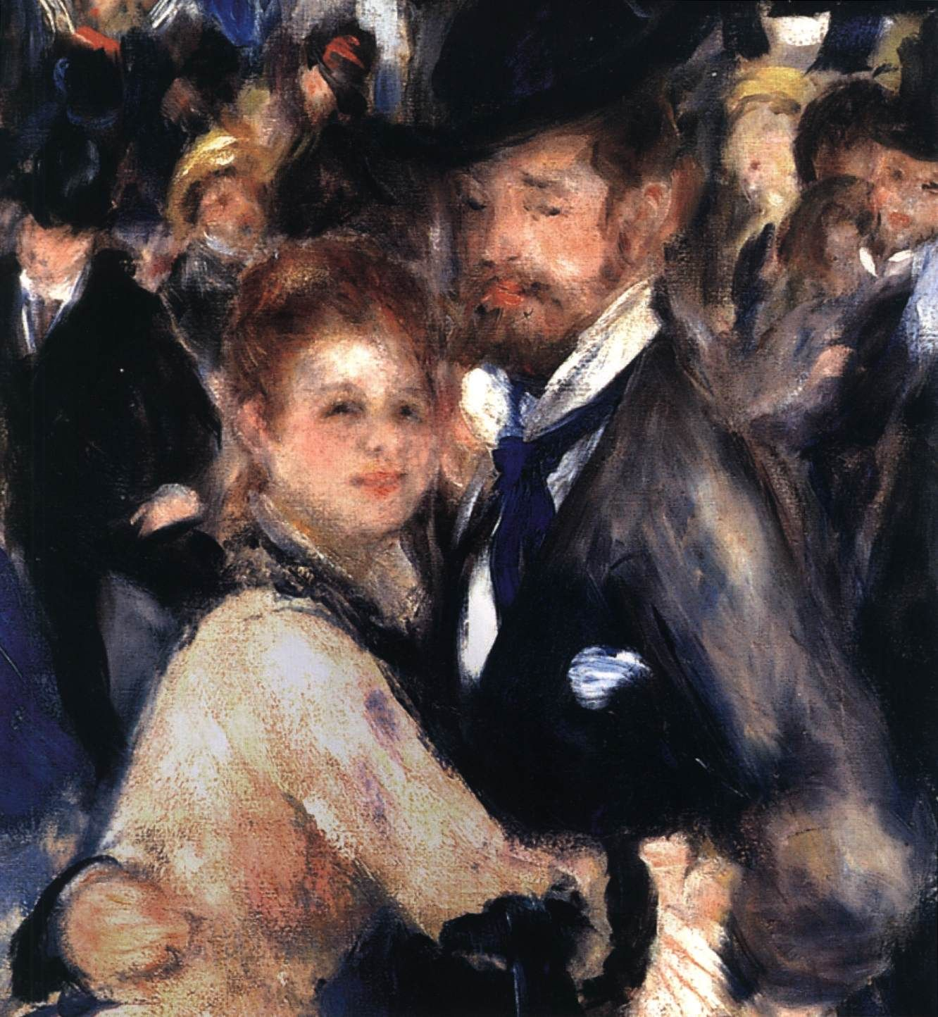 Pierre Auguste Renoir Bal Du Moulin De La Galette Montmartre
