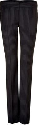 D DOLCE & GABBANA Navy Pin Stripe Suit Pants