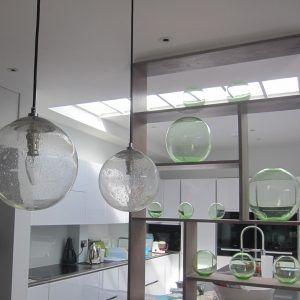nikki rees family room lighting statement lighting design