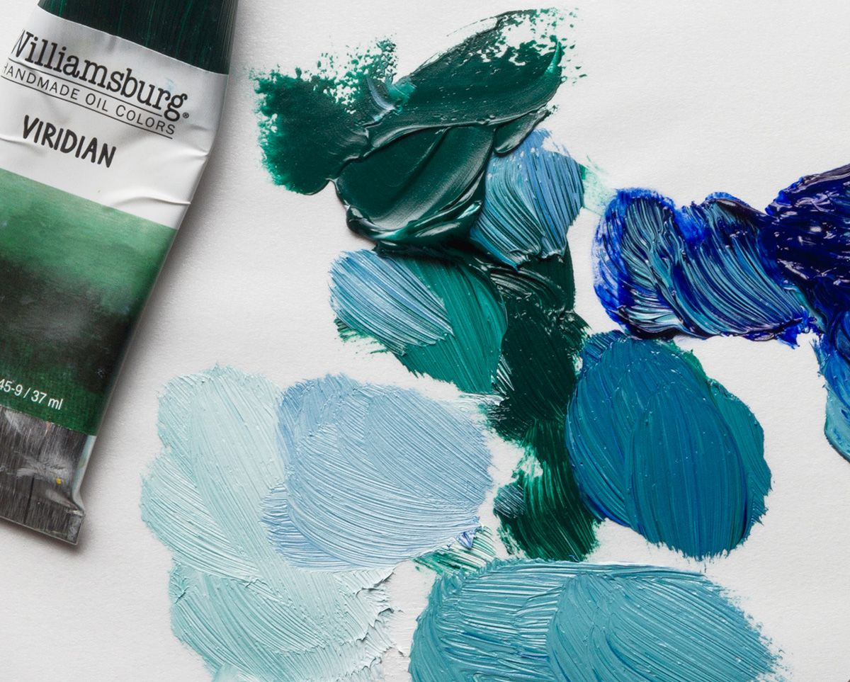 Colour mixing with williamsburg viridian oil paint williamsburg colour mixing with williamsburg viridian oil paint nvjuhfo Image collections