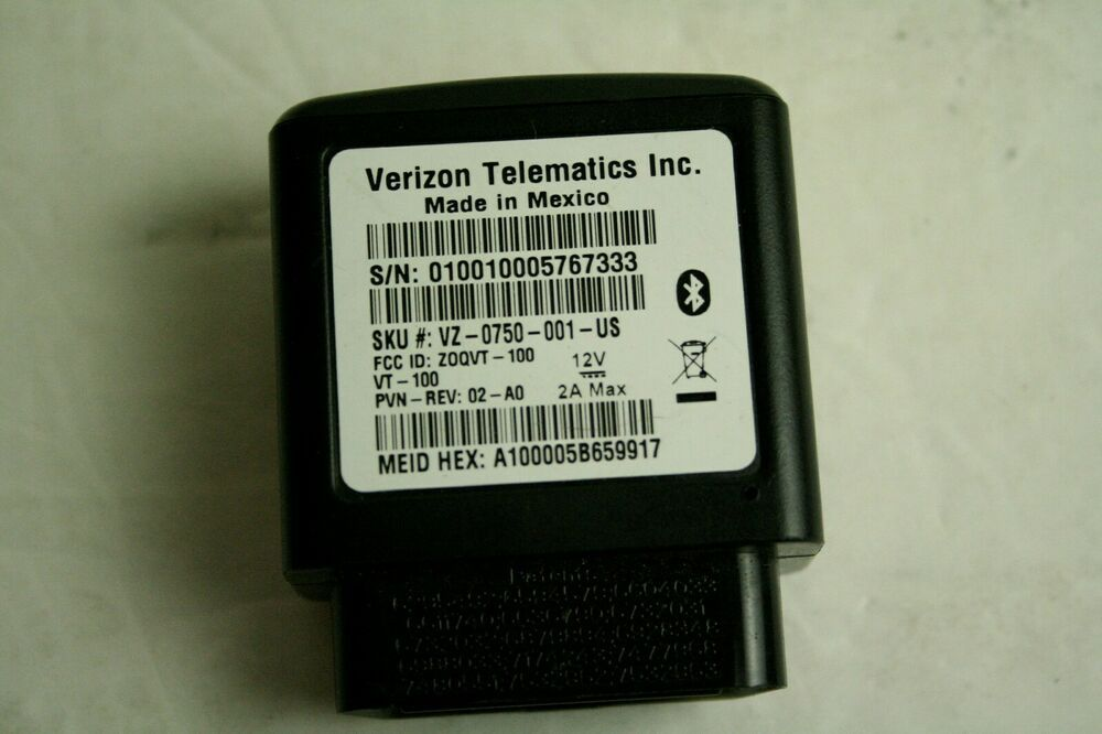 Details About Hum By Verizon Telematics Obd Reader For Bluetooth