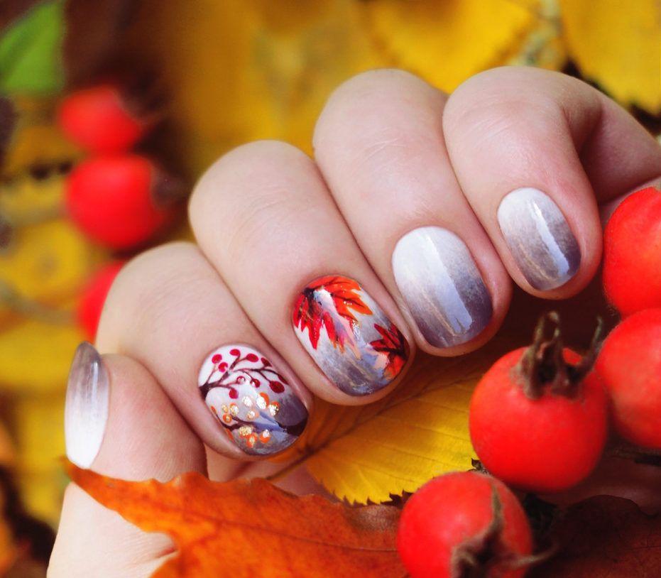 Nail Art #3747 - Best Nail Art Designs Gallery   October nails ...