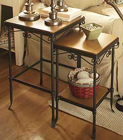 Longaberger S Wrought Iron Collection Can Add Sophistication To