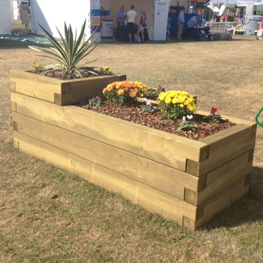 sleeper planters - Google Search   Garden Planters   Pinterest ...