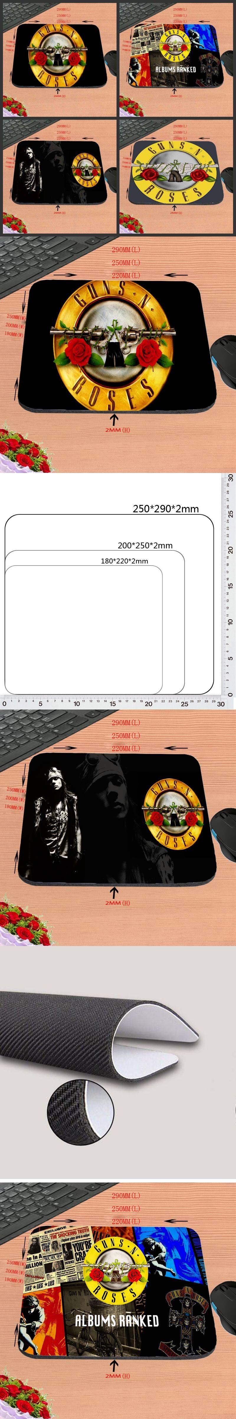 Promo Mousepad L200 Find Indonesia Update 2018 Quns N Roses Album Hot Design Anti Slip Durable New Arrival Customized