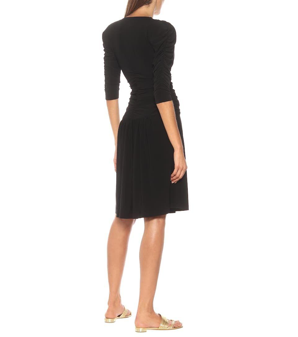 Stretch Jersey Midi Dress Black Midi Dress Midi Dress Dresses [ 1088 x 962 Pixel ]