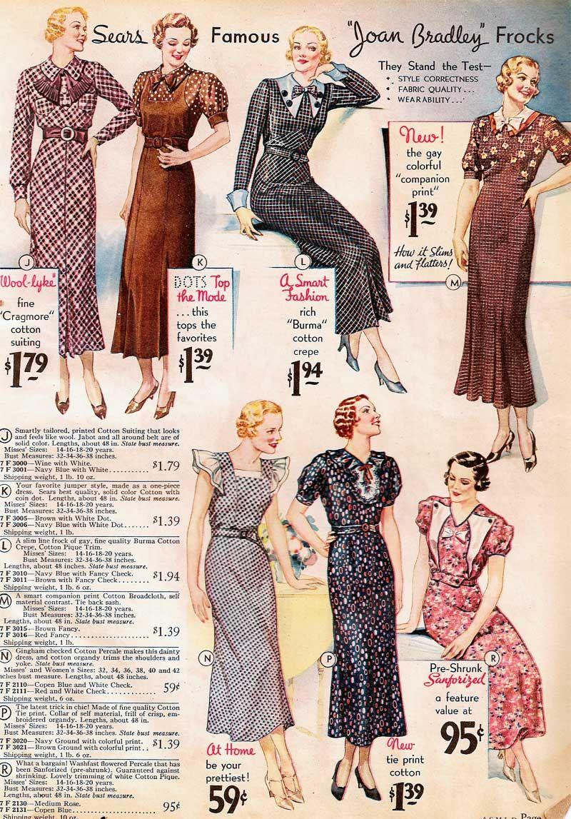 Sears catalog 1934