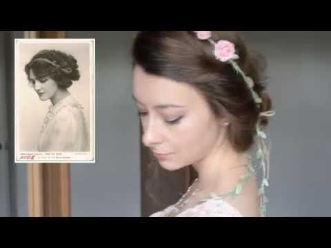 Easy Victorian Inspired Vintage Hairstyles Tutorial Kathryn - Gibson girl hairstyle youtube