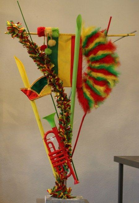Carnaval object 20 parkstad bloembinderij carnaval for Ballonnen versiering zelf maken