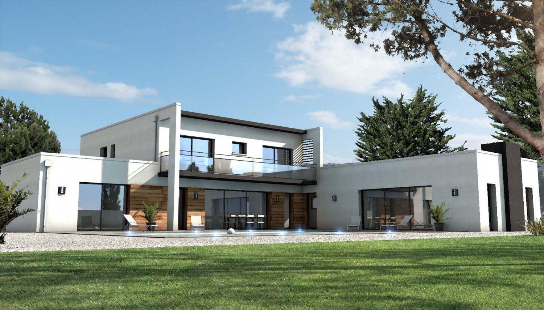 Maison moderne noirmoutier 85 house pinterest for Maison moderne 160m2