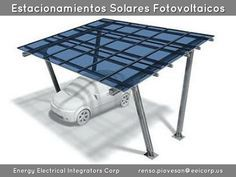 Estacionamiento Solar Fotovoltaico Latinoamerica. Parking Solar Latinoamerica…