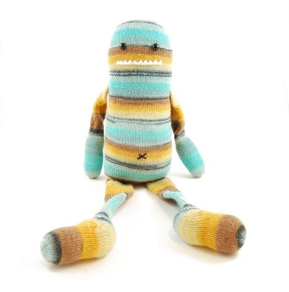 Quincy Quade Quentin A Very Memorable Monster Knitting