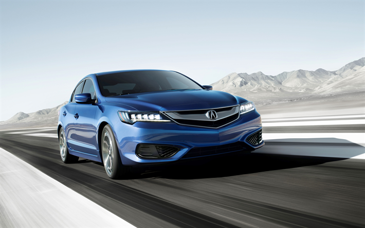 Download Wallpapers Acura Ilx 4k 2018 Cars Road New Ilx Japanese Cars Acura Besthqwallpapers Com Acura Ilx Acura La Auto Show