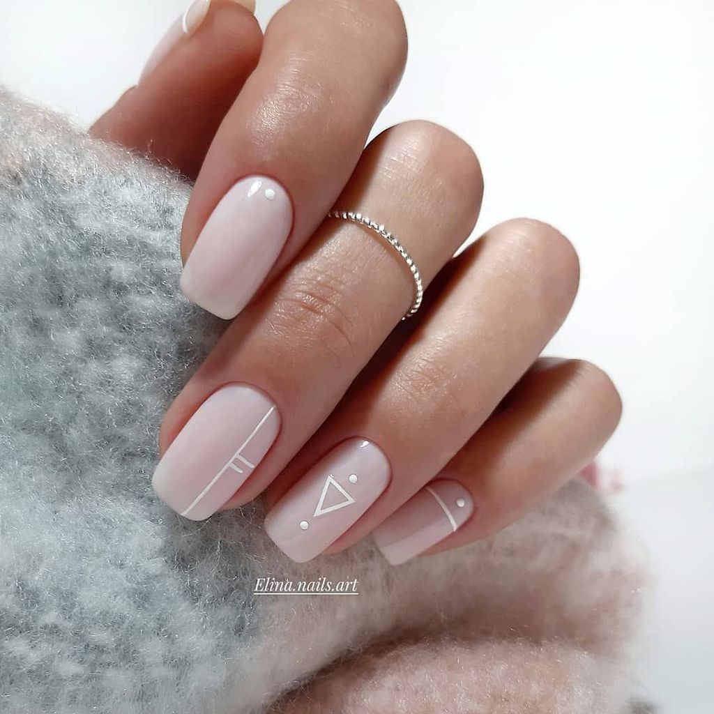 42 Fashionable Pink And White Nails Designs Ideas You Wish To Try Addicfashion Short Acrylic Nails Designs Square Acrylic Nails Square Nail Designs