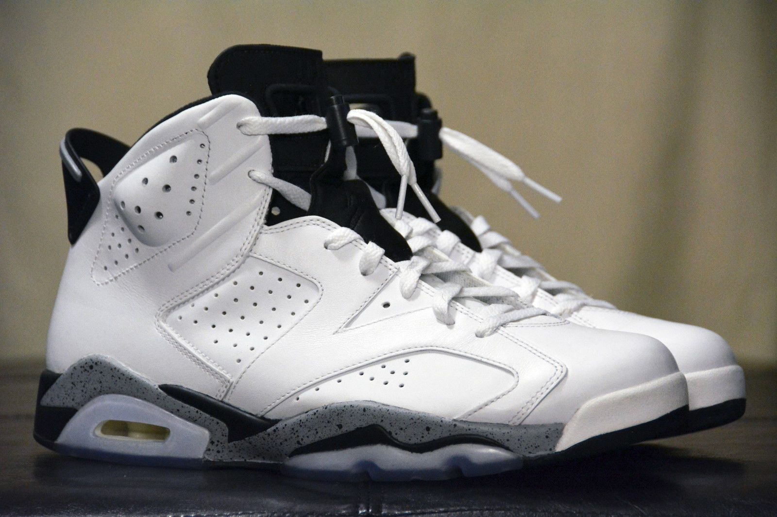 453658d38dd56 Jordan 6 Retro Cement Oreo Custom Size 11 5 1 of 1 Infrared OVO 23 GMP DMP  Rings