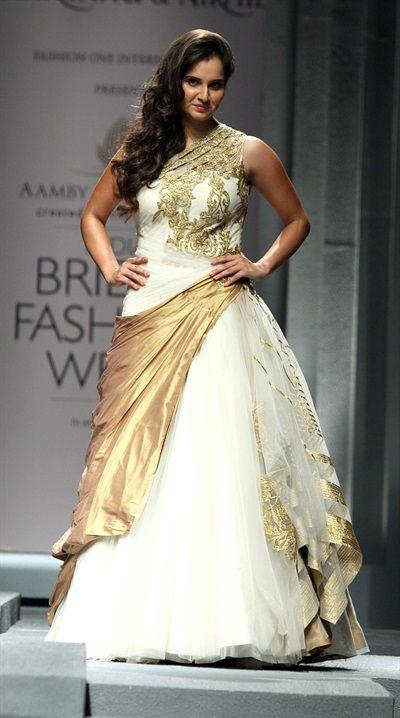 Sania Mirza for Shantanu & Nikhil at Aamby Valley India Bridal Week - Gallery - TheBigFatIndianWedding.com