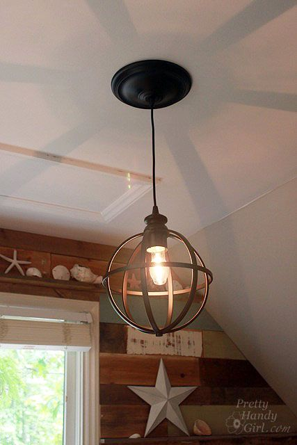 Convert Can Light To Pendant 5 Minute Light Upgrade  Converting A Recessed Light To A Pendant