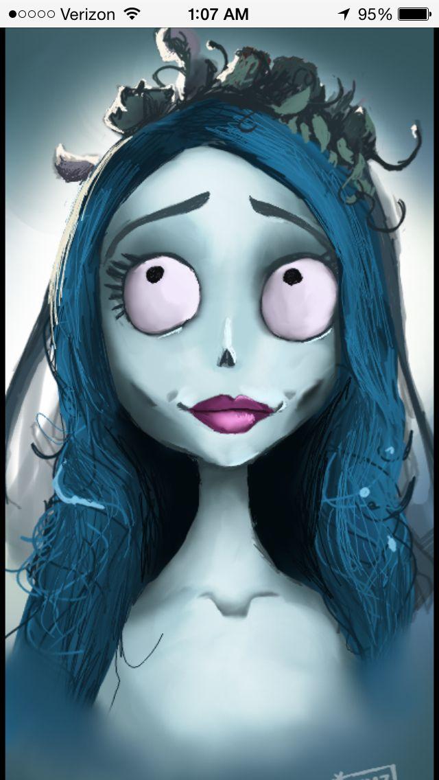 Corpse Bride El Cadaver De La Novia Arte De Tim Burton Personajes De Terror