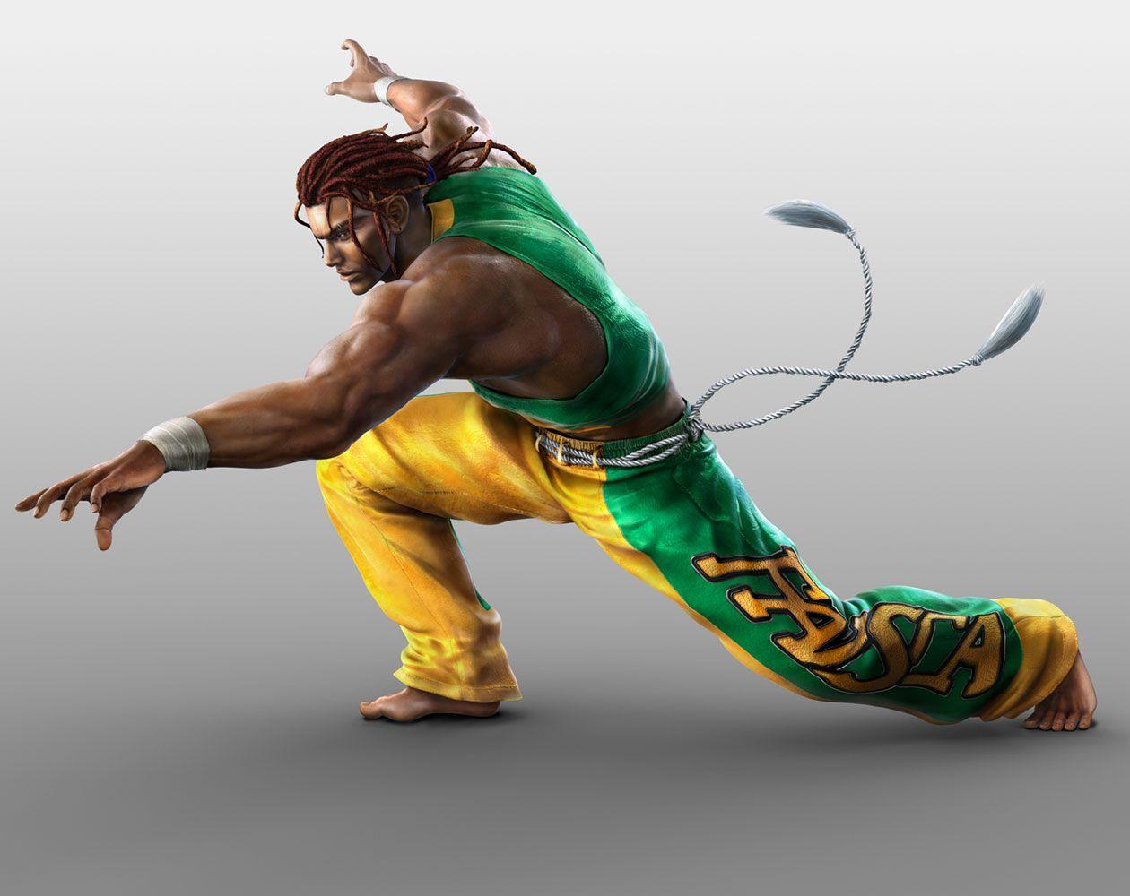 eddy gordo characters art tekken tag tournament 2 capoeira capoeira martial arts gamer pics www pinterest jp