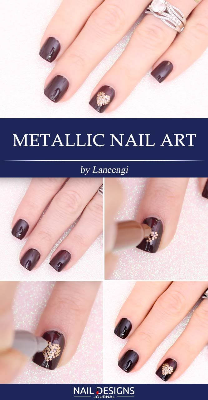 Quick Guide to 15 Stylish Yet Simple | Fancy nail art, Simple nail ...