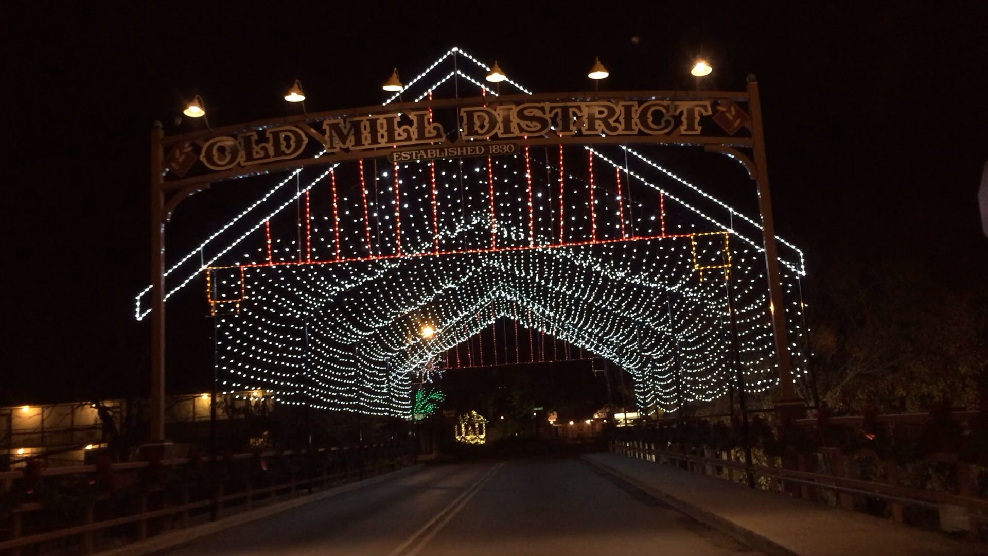 Entrance  to Old Mill Historic District, Pigeon Forge, TN