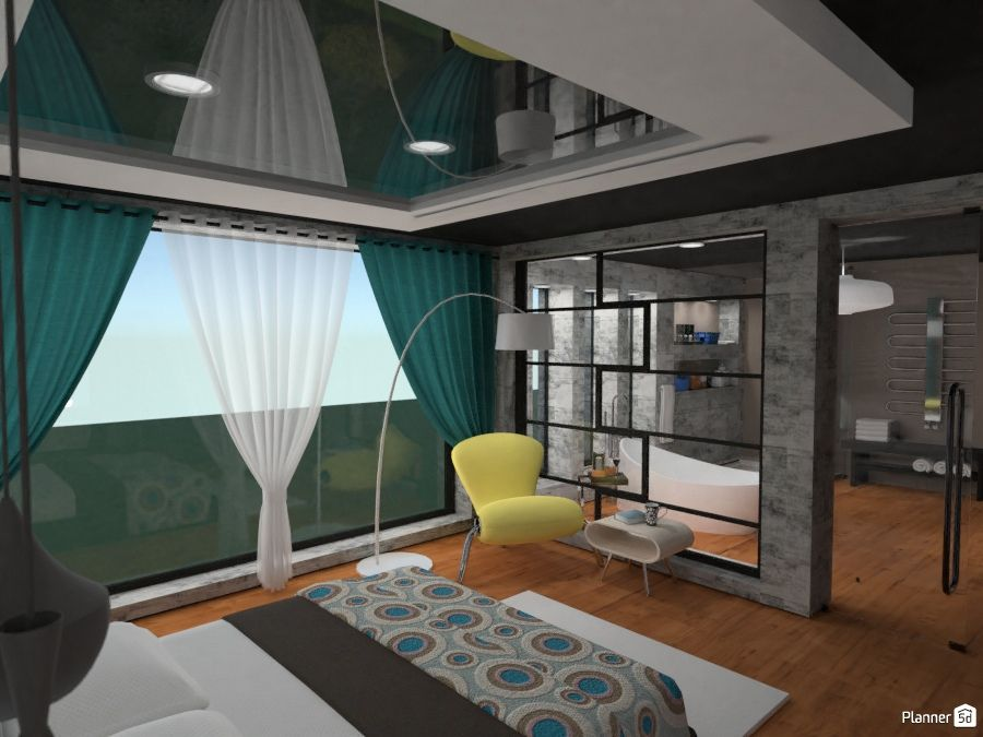 Modern Bedroom Interior Planner 5d