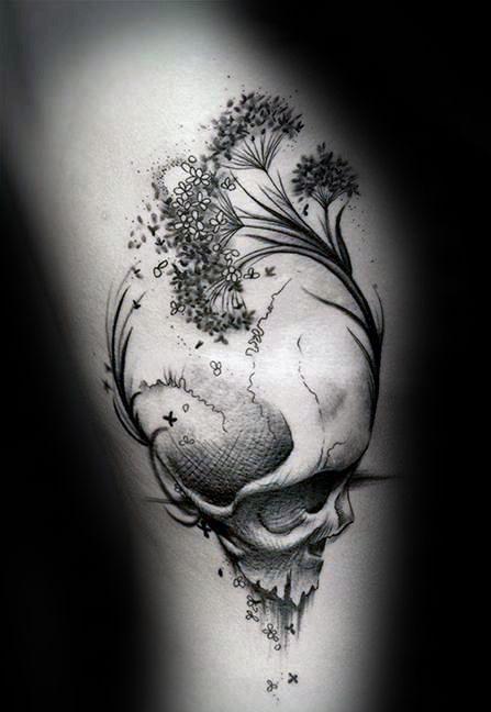 50 Vida Muerte Diseños De Tatuajes Para Los Hombres Ideas