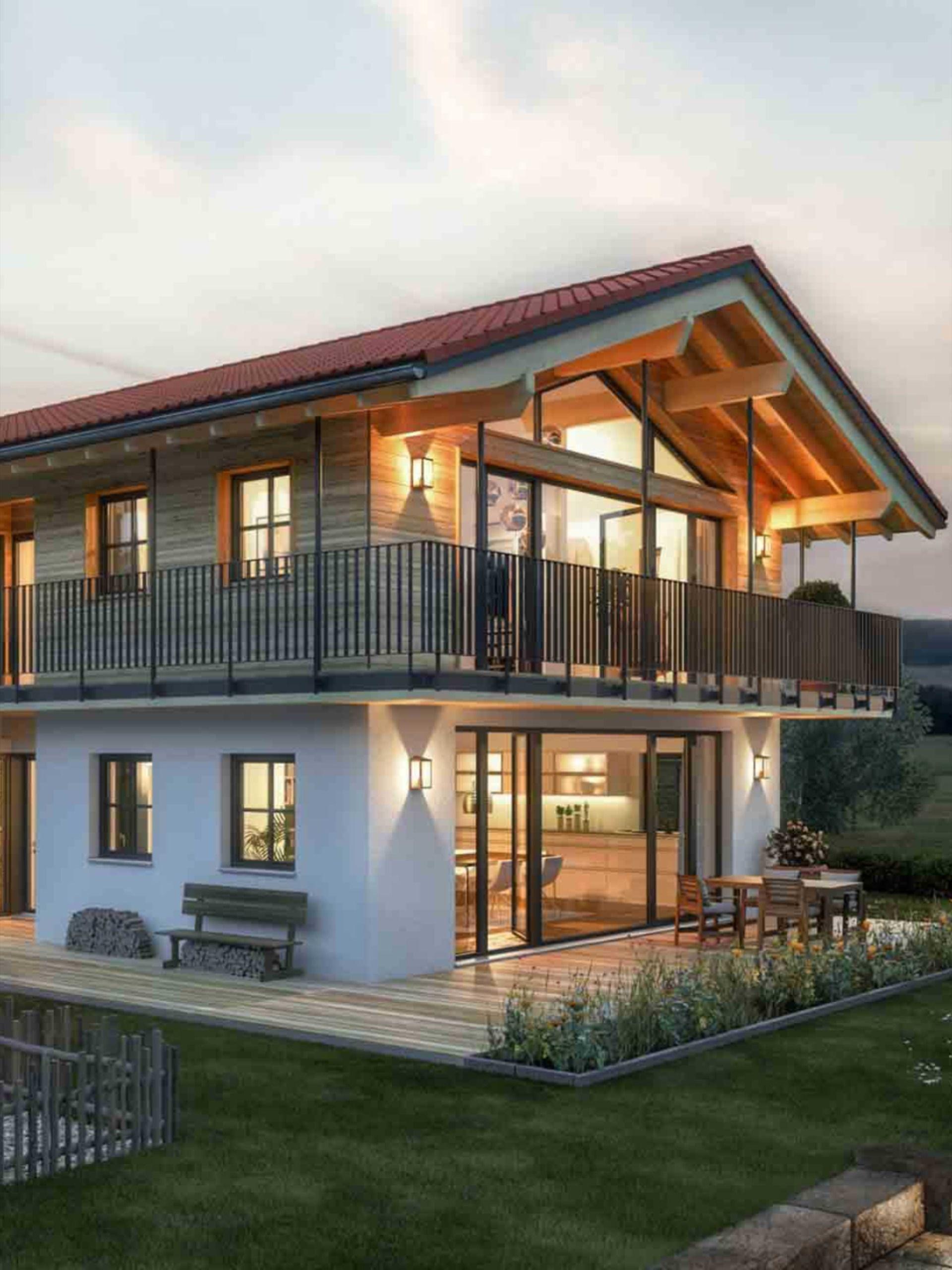 Modernes Holzhaus Liesl