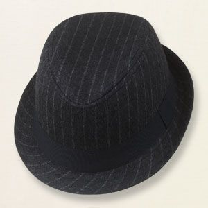 pinstripe fedora... for the ring bearers