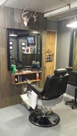 Small Barber Shop Com Imagens Ideias Para Barbearias