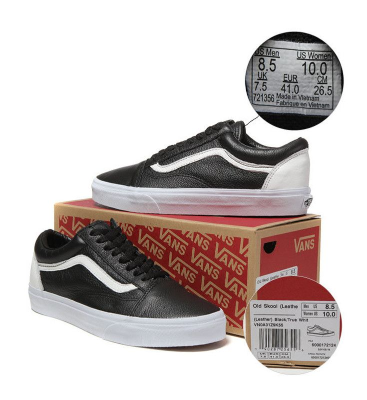 50ab9e4696 Vans low to help classic old skool OS full leather color
