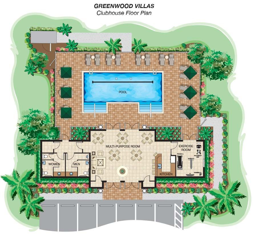 lake community pool clubhouses designs - - Yahoo Image ...