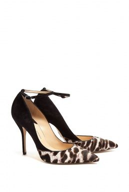 Snowcat Bouchara Stiletto Pointed Court Shoes by Paul Andrew