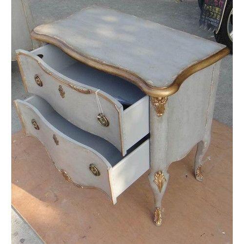 French 2 Drawer Dresser Chic Furniture Shabby Chic Furniture Recycled Furniture