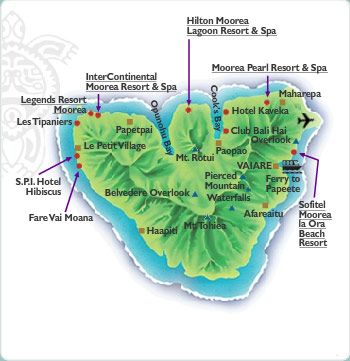 Moorea Island Tourism Information Tahiti Tourisme North