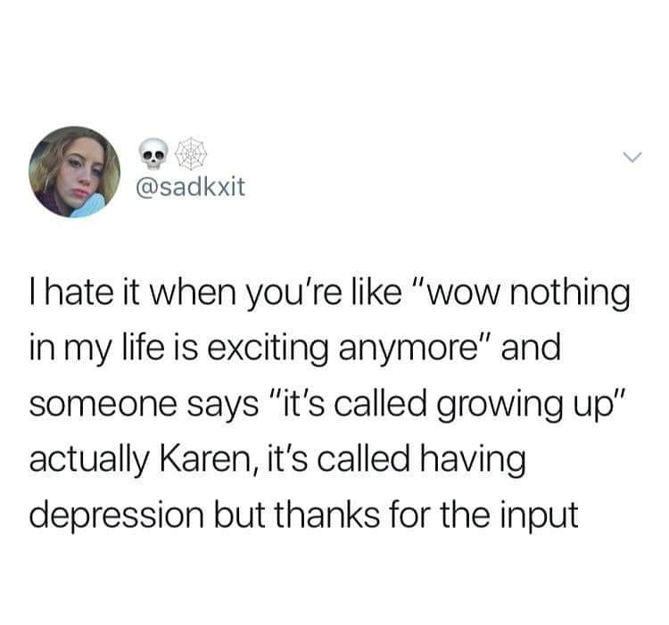 Distractify On Instagram Classic Karen Funny Quotes Funny Text Posts Relatable Tweets