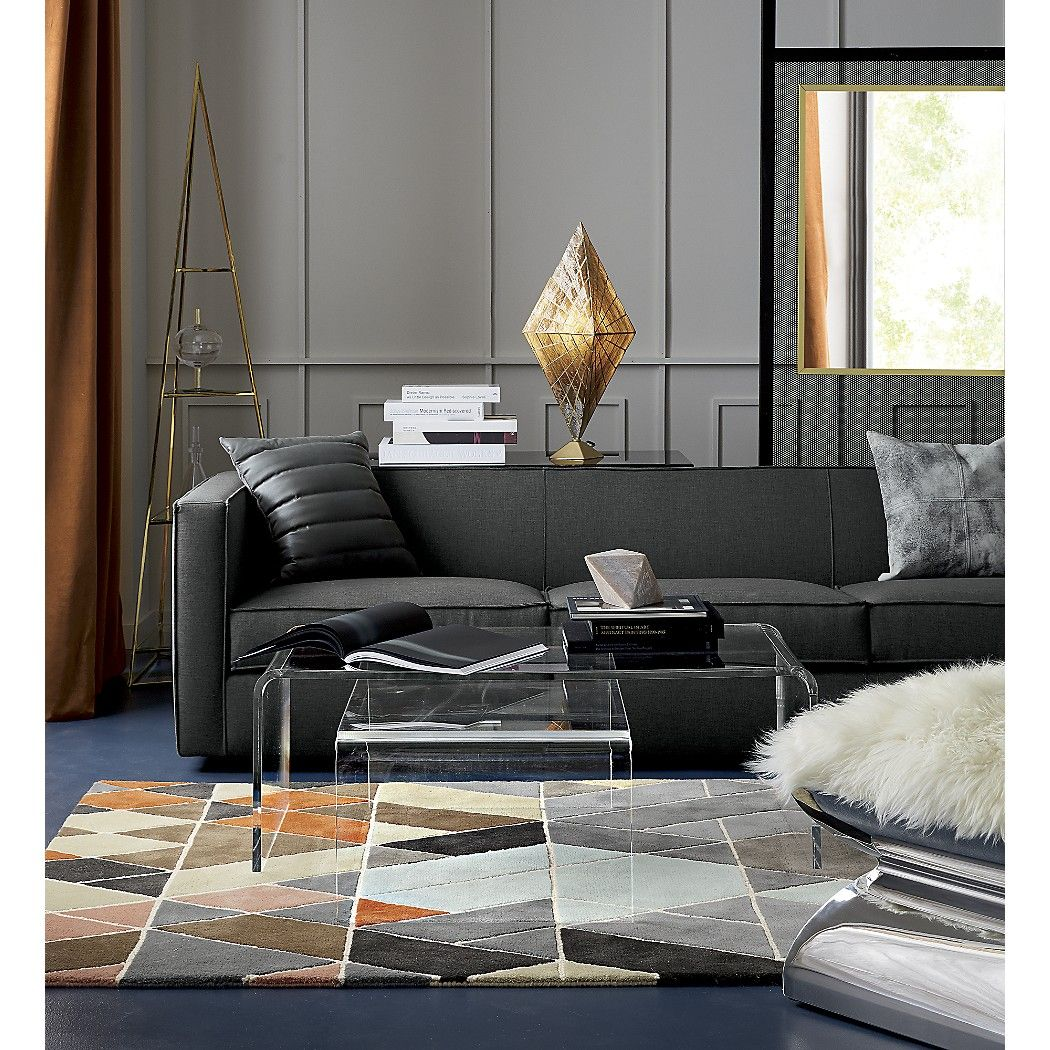 Shop Peekaboo Acrylic Tall Coffee Table. A Taller Version Of Our  Best Selling Peekaboo Coffee Table. This Transparent New Surface Floats In  The Room Without ...