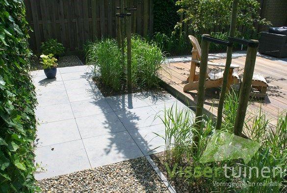 Strakke moderne tuin tuinidee moderne tuin