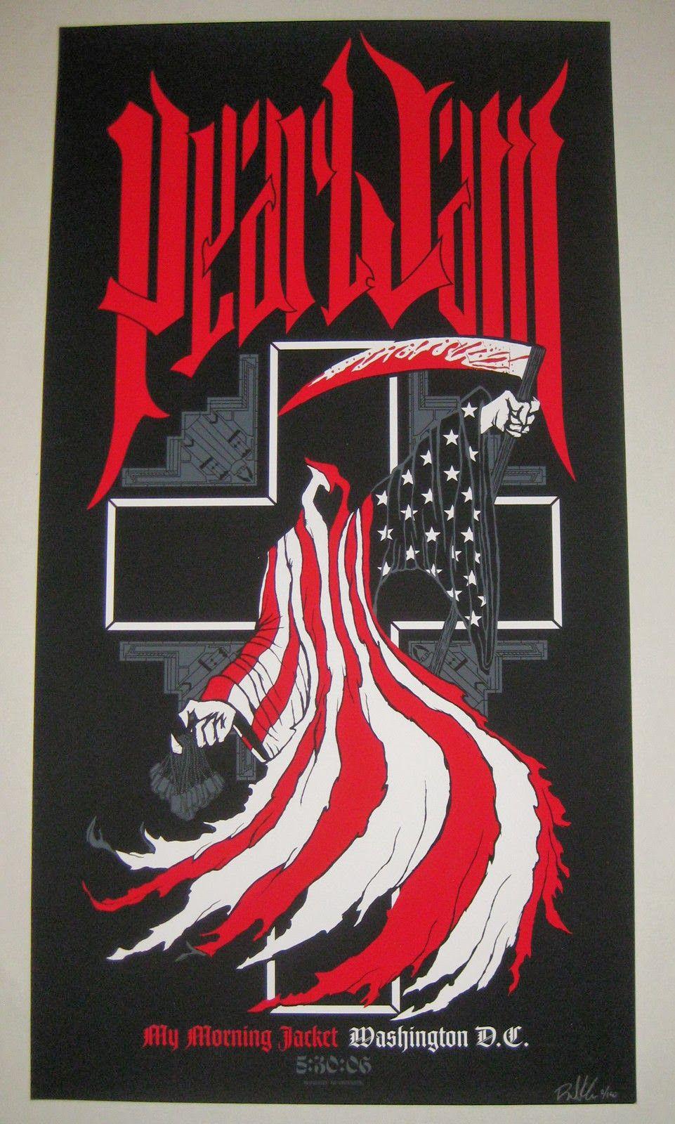 109b3bc72a88 Brad Klausen Pearl Jam Poster Archive Sale