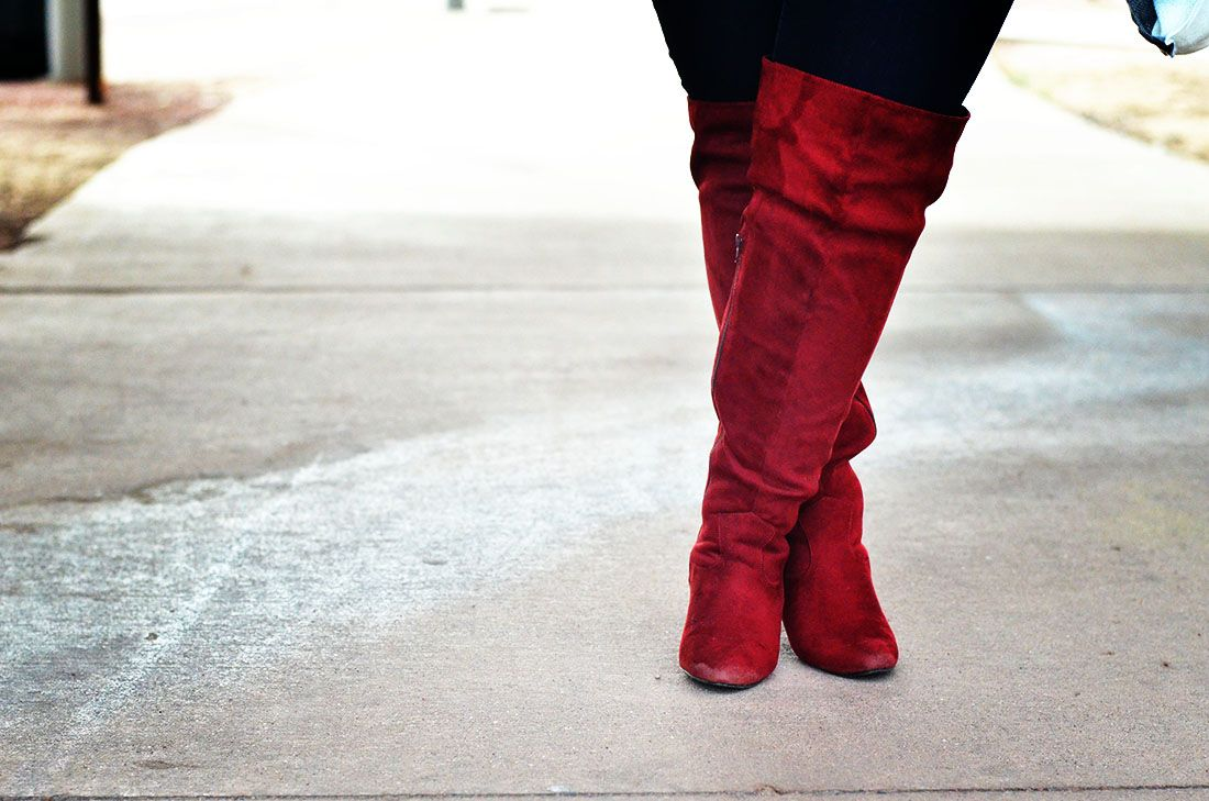plus size wide calf boots thigh high